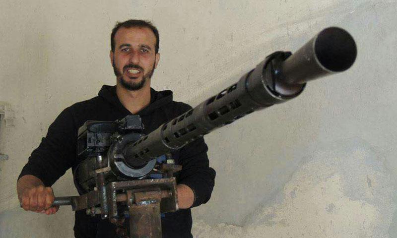 """القيادي في """"الجيش الحر"""" حسام أبازيد """"فيس بوك"""""""