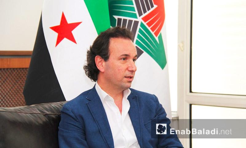رئيس الائتلاف السوري السابق، خالد خوجة (أرشيف عنب بلدي)