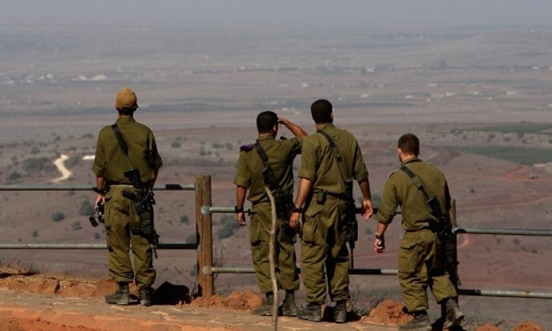 تعبيرية: جنود إسرائيليون في هضبة الجولان المحتل (وسائل إعلام إسرائيلية)