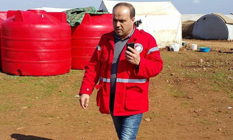 عمر بركات- مدير الهلال الأحمر في حلب (فيس بوك)