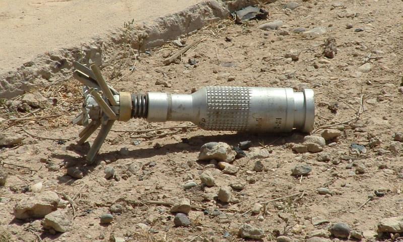 تعبيرية: قنابل عنقودية في سوريا (إنترنت)