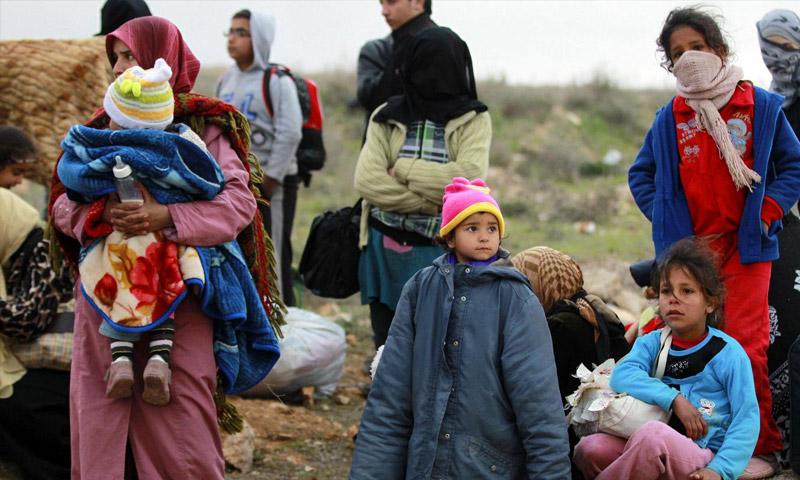 تعبيرية: لاجئون سوريون (إنترنت)