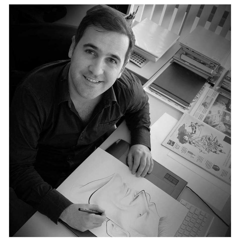 رسام الكاريكاتير البرتغالي، فاسكو غارغالو (فيس بوك)