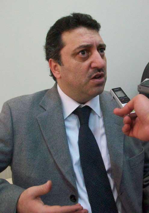 محافظ حمص الأاسبق محمد إياد غزال