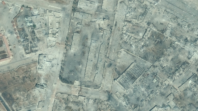 صورة جوية لأحياء حلب الشرقية- تشرين الأول 2016 (UN)