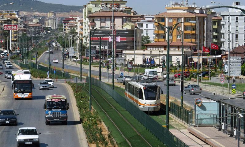 مركز مدينة غازي عنتاب التركية (وكالات)