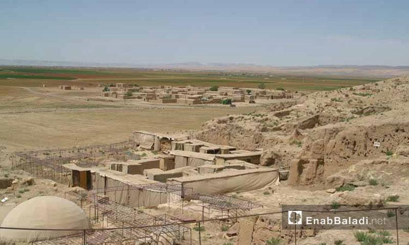 موقع أثري في مدينة الحسكة (عنب بلدي)