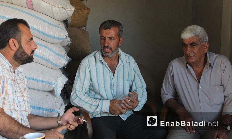 تجار حبوب في الحسكة - 29 أيلول 2016 (عنب بلدي)