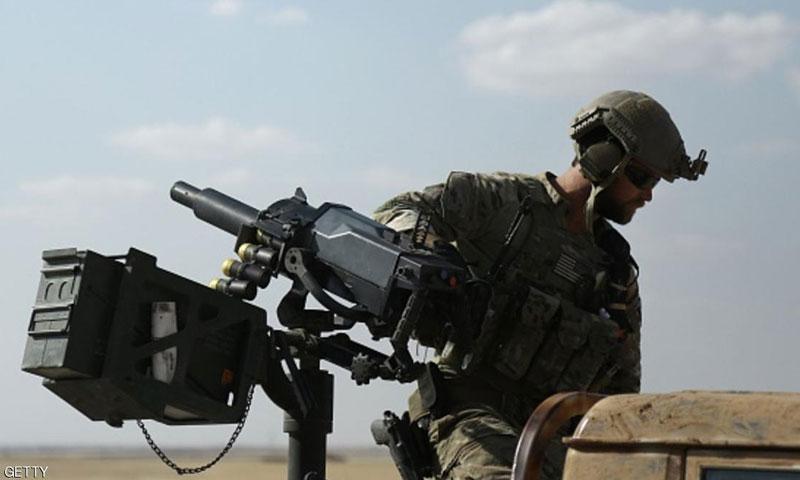 جندي أمريكي في ريف الرقة الشمالي- حزيران 2016 (جيتي)