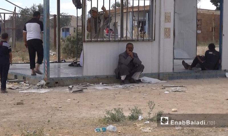 حياة اللاجئين العراقيين في مخيم الهول بمدينة الحسكة (عنب بلدي)