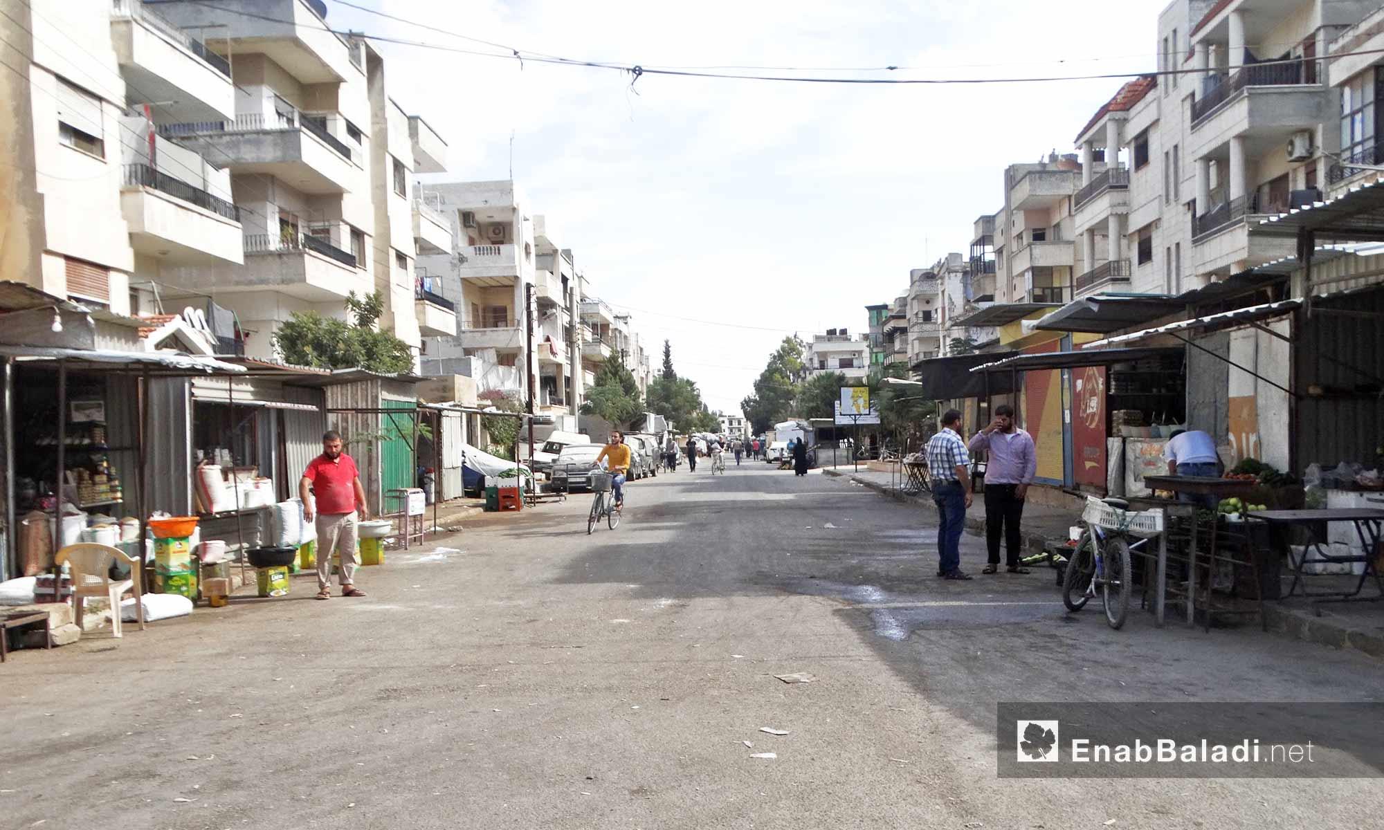 حي الوعر بحمص - 11 تشرين الأول 2016 (عنب بلدي)