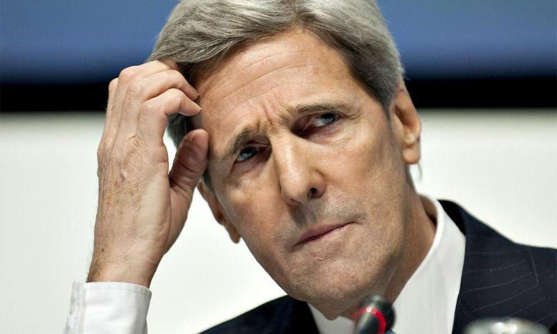 وزير الخارجية الأمريكي جون كيري (إنترنت)