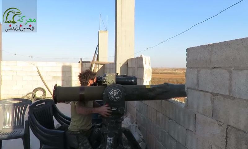 """رامي صاروخ """"تاو"""" في """"جيش العزة""""- الاثنين 17 تشرين الأول (يوتيوب)"""