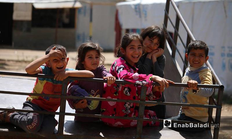 أطفال في مدينة درعا جنوب سوريا - تشرين الأول 2016 (عنب بلدي)