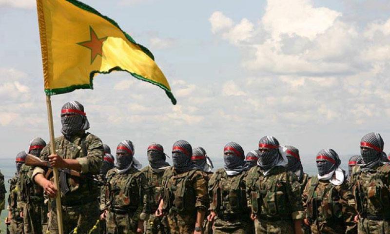 """أرشيفية- عناصر من وحدات """"حماية الشعب"""" الكردية (إنترنت)"""