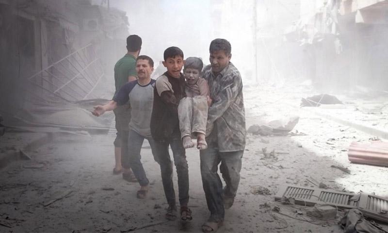 حلب، سوريا، روسيا