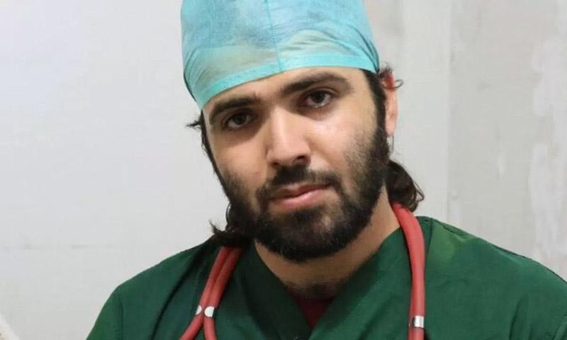 الطبيب السوري معاوية العوض (إنترنت)الطبيب السوري معاوية العوض (إنترنت)