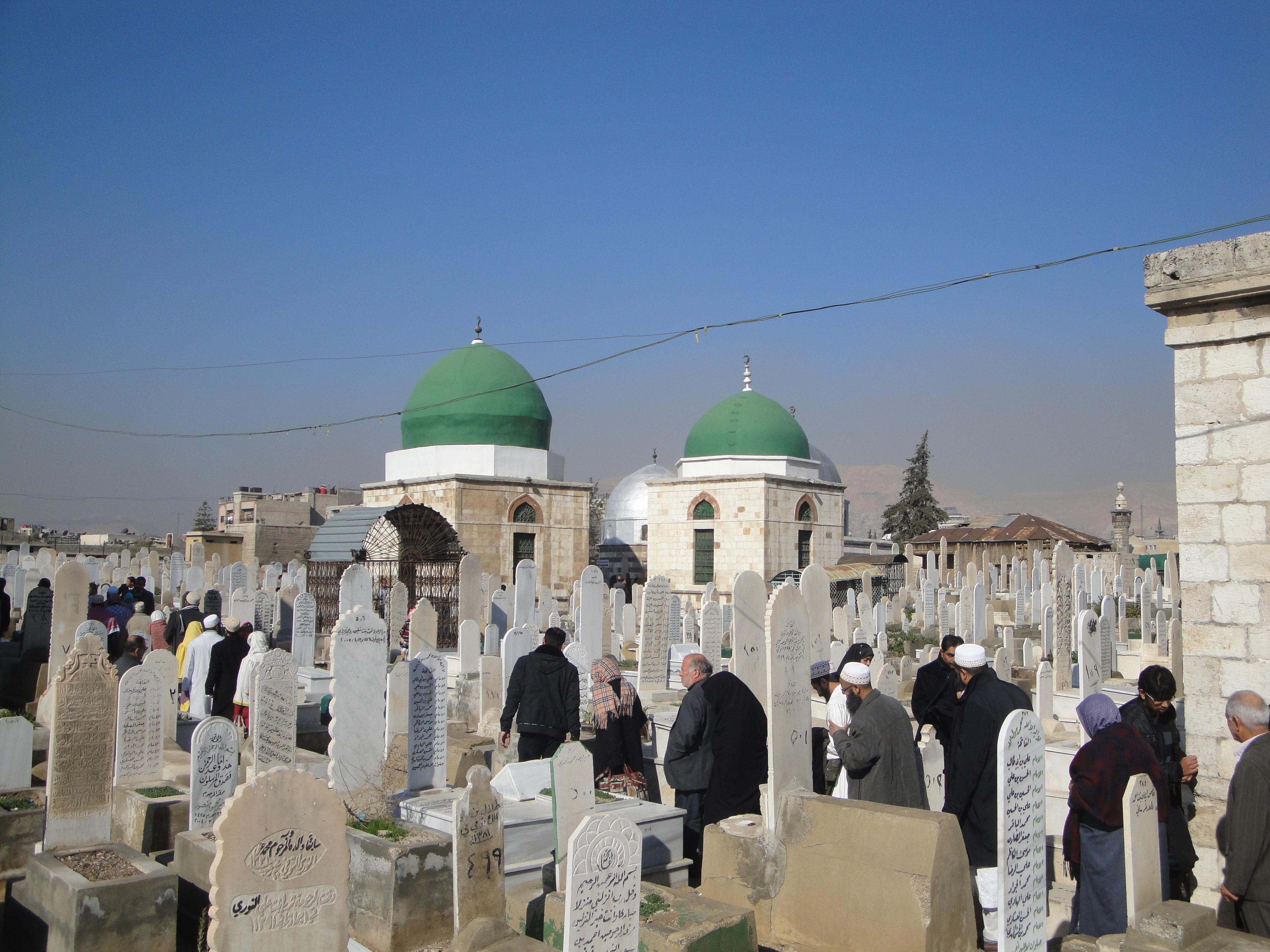 مقبرة باب الصغير في دمشق