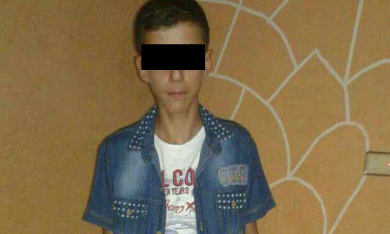 الطفل رامي العمر السجناوي (تويتر)