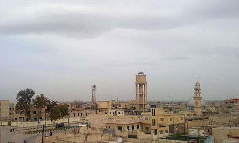 أرشيفية- مدينة صوران في ريف حماة الشمالي (فيس بوك)