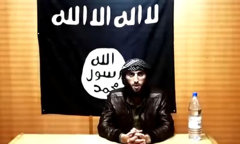 """القيادي في تنظيم """"الدولة"""" صدام الجمل (يوتيوب)"""