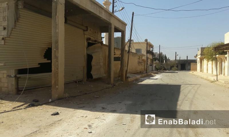 بلدة تركمان بارح في ريف حلب الشمالي- الأربعاء 5 تشرين الأول (عنب بلدي)