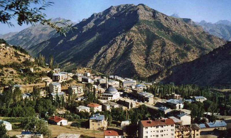 مدينة هكاري جنوب شرق تركيا (وكالات)