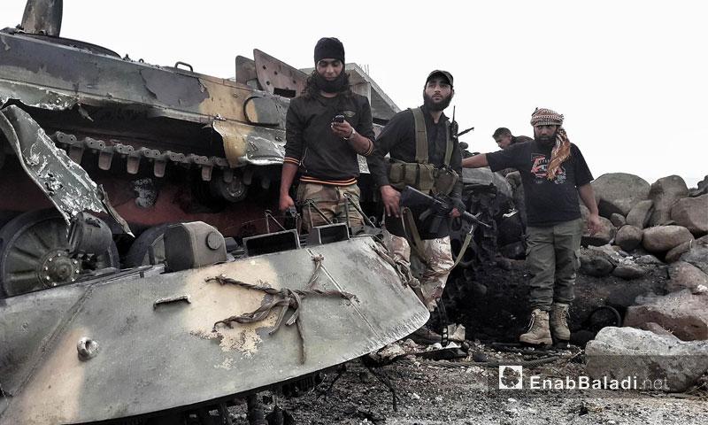 حاجز الديك على جبهة الزارة - الاثنين 16 أيار (عنب بلدي)