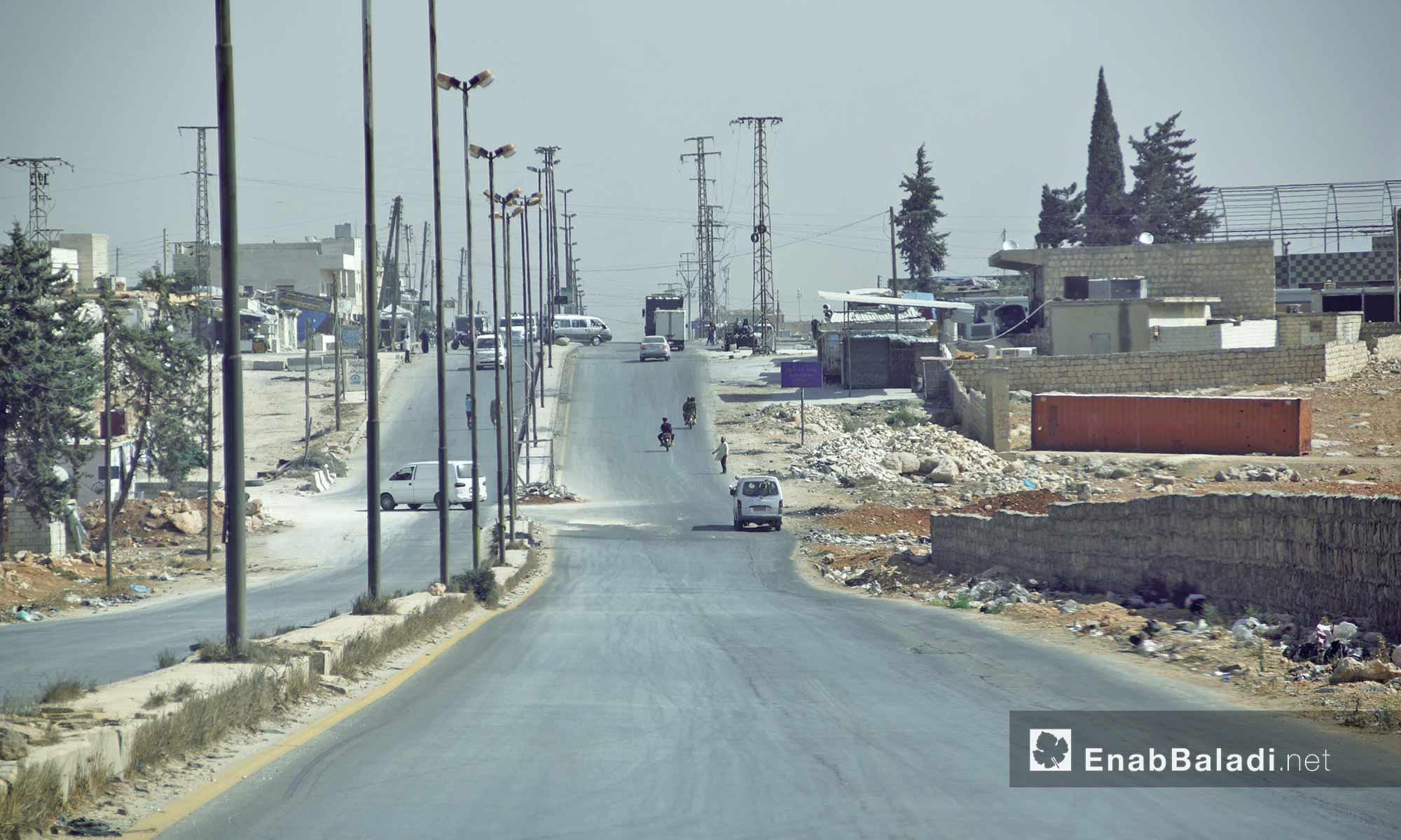 بلدة أورم الكبرى في ريف حلب الغربي - 14 تشرين الأول 2016 (عنب بلدي)