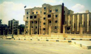 أرشيفية- مبنى الحزب (الجديد) وسط حماة (عدسة شاب حموي)