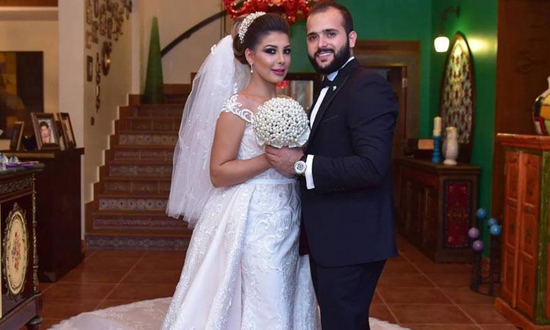 خالد جراح وبشرى الحسن (فيس بوك)