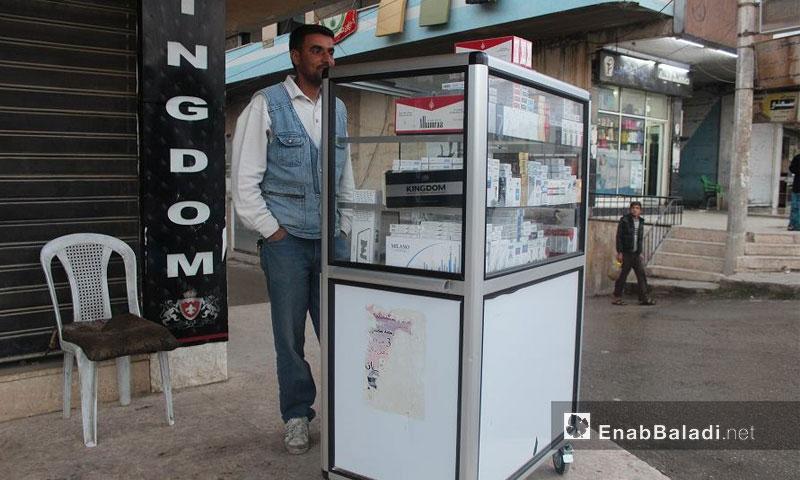 بيع الدخان المهرب في أسواق مدينة الحسكة (عنب بلدي)