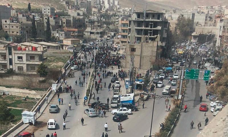 تعبيرية: مدينة التل في ريف دمشق (تويتر)