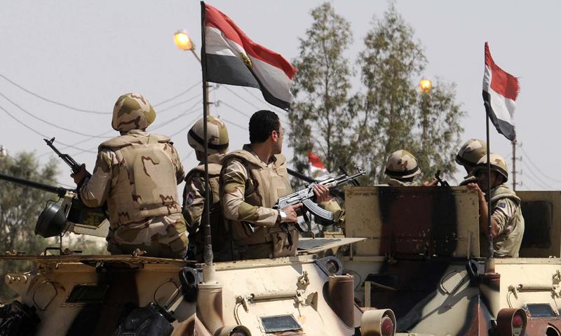 تعبيرية: قوات من الجيش المصري (إنترنت)