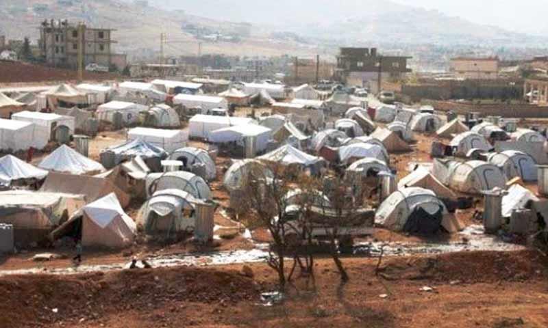 تعبيرية: مخيمات اللاجئين السوريين في عرسال (إنترنت)
