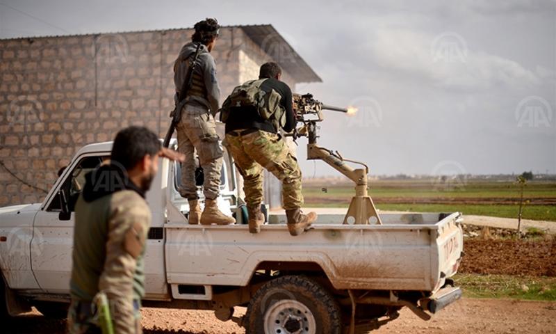 """مقاتلو """"الجيش الحر"""" شمال حلب - 16 تشرين الثاني 2016 (وكالة الأناضول)"""