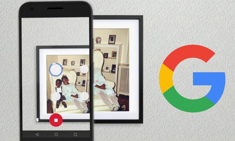 صورة تظهر استخدام تطبيق المسح الجديد (إنترنت)