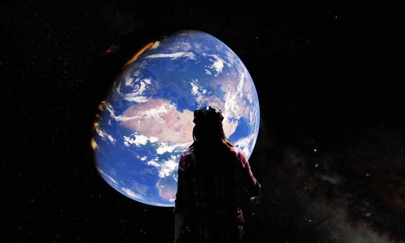 تقنية الواقع الافتراضي حول العالم (GOOGLE)