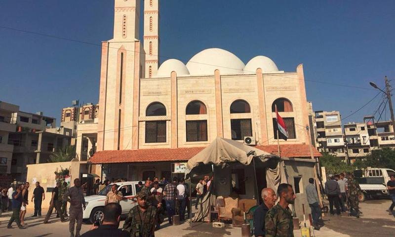 تعبيرية: صورة لمدينة جبلة قرب اللاذقية (إنترنت)