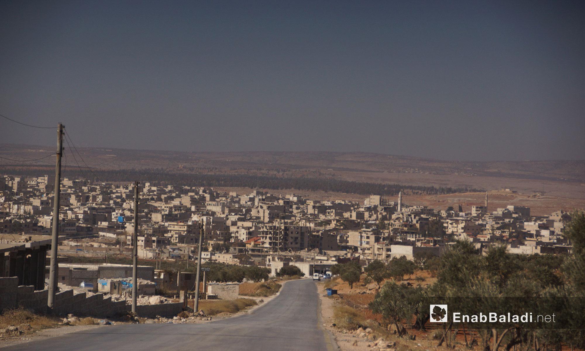 مدينة معرة النعمان ريف إدلب الجنوبي - 24 تشرين الثاني 2016 (عنب بلدي)