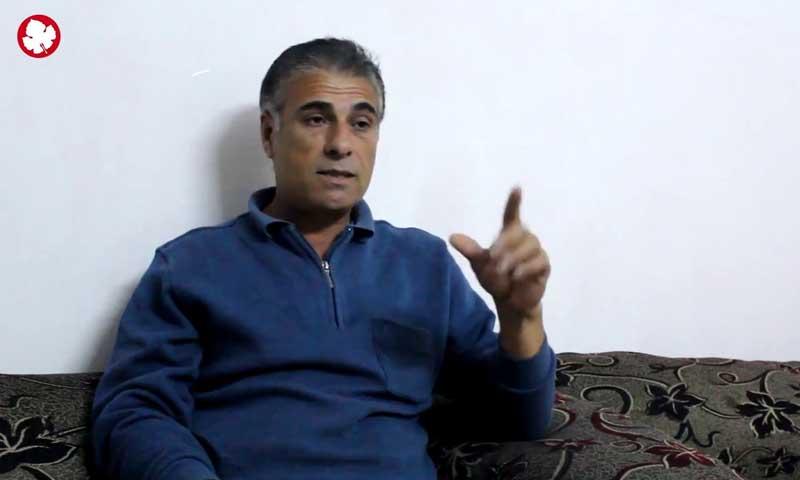 نديم خضر عمر مدرس لغة عربية في القامشلي