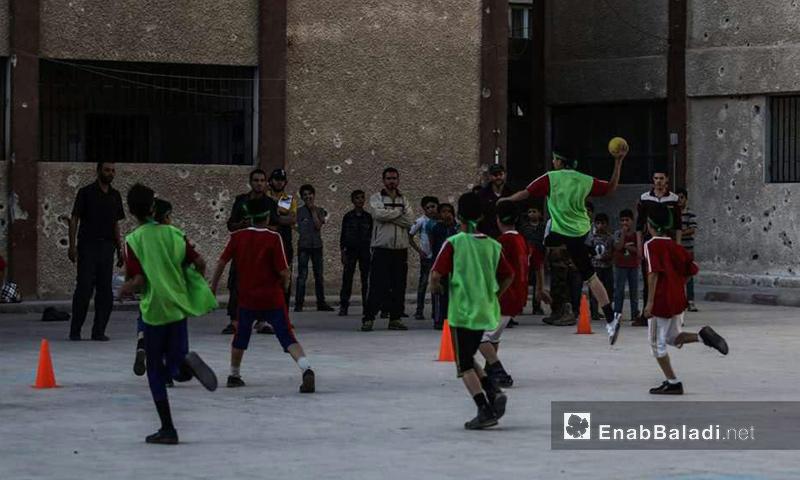 مهرجان الغوطة الرياضي في ريف دمشق - تشرين الأول 2016 (عنب بلدي)