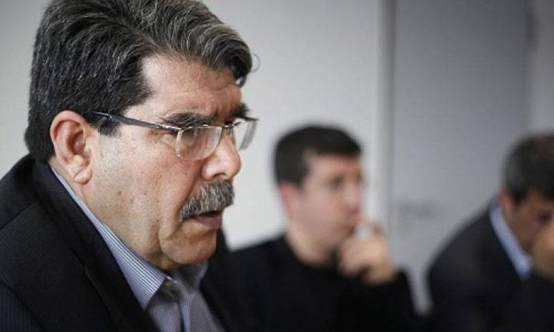 """الرئيس المشترك لحزب """"الاتحاد الديمقراطي"""" الكردي، صالح مسلم (انترنت)"""