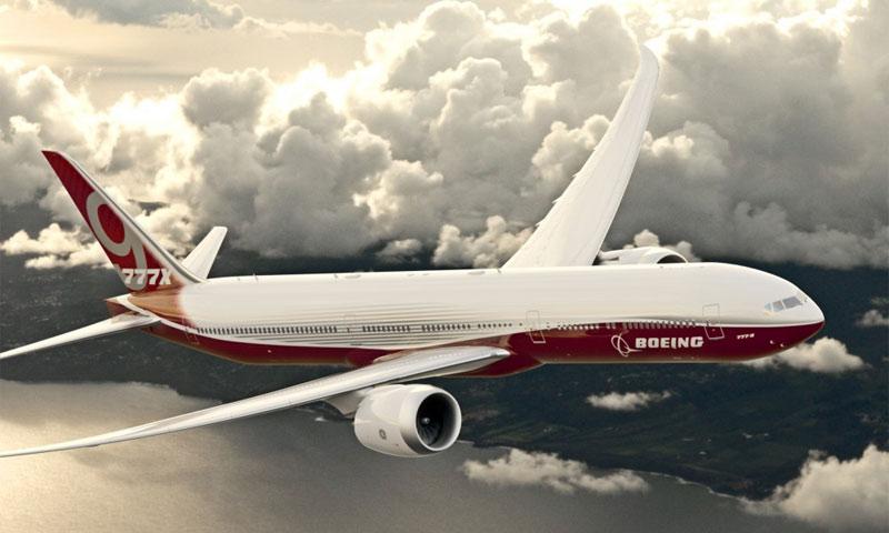 """طائرة بوينغ """"9X-777"""" الأمريكية-(انترنت)"""