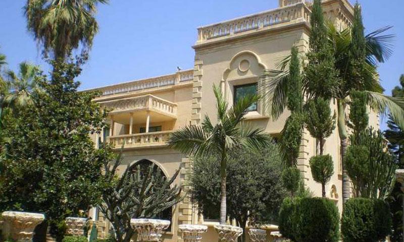 منزل رفيق الحريري وسط العاصمة دمشق (وكالات)