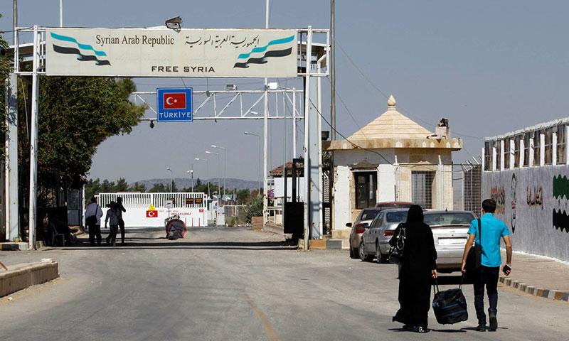 معبر باب السلامة بين سوريا وتركيا(انترنت)