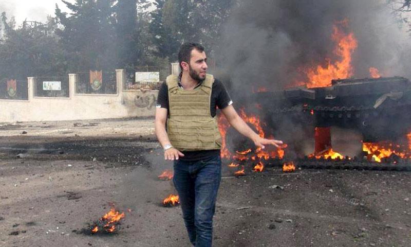 الإعلامي السوري هادي العبد الله (إنترنت)