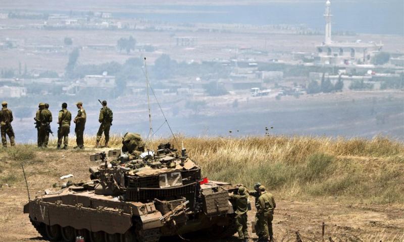 عناصر من جيش الدفاع الإسرائيلي في الجولان المحتل_(انترنت)