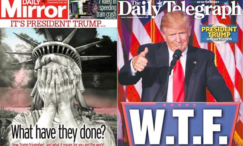 أغلفة بعض الصحف العالمية - 10 تشرين الثاني (إنترنت)