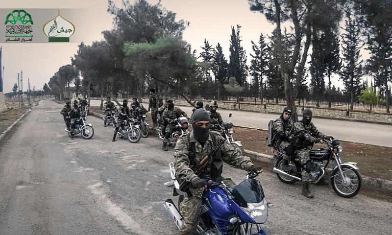 """انغماسيون في حركة """"أحرار الشام الإسلامية"""" قبل الهجوم على مشروع 3000 شقة (أحرار الشام)"""